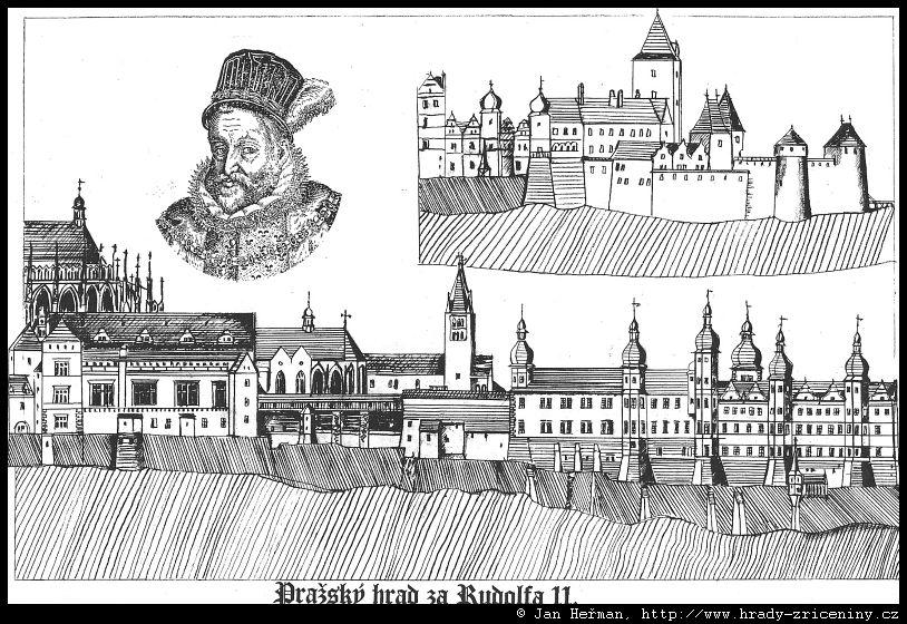 Kresby Jana Hermana Prazsky Hrad Hrady Zriceniny Cz